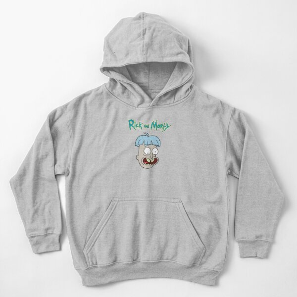Doofus Rick Sanchez | Rick and Morty Character Kids Pullover Hoodie