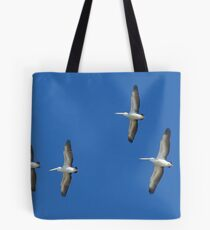 (not quite) Sequential Pelicans Tote Bag