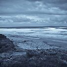 Stormy Beach by Conor  O'Neill