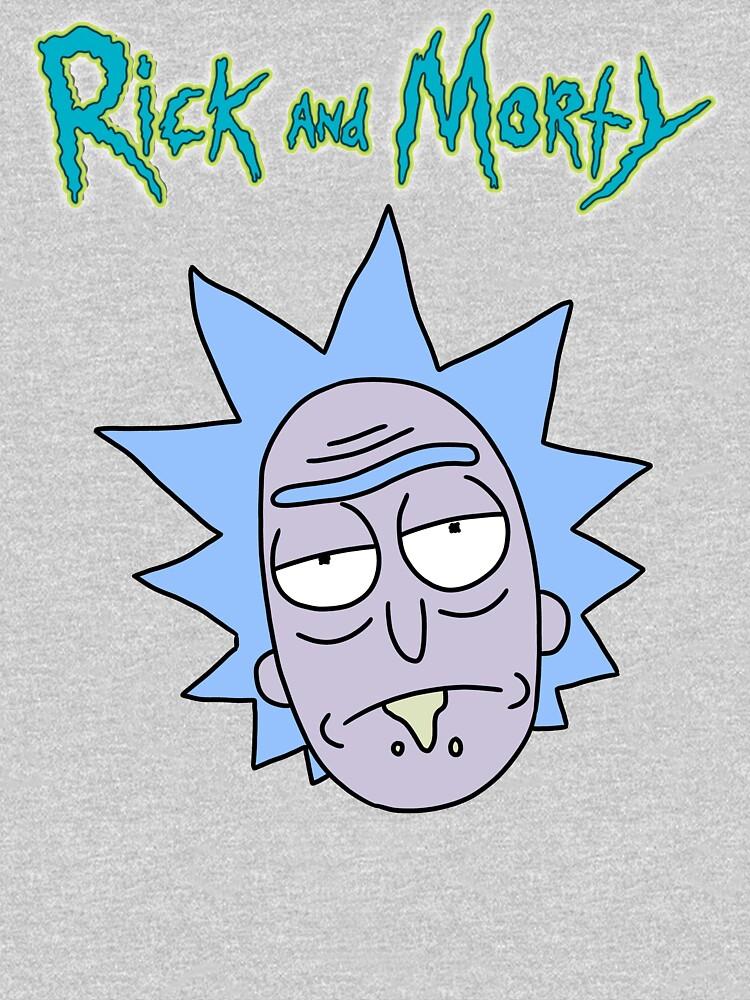 Rick Sanchez | Rick and Morty Character by newarts