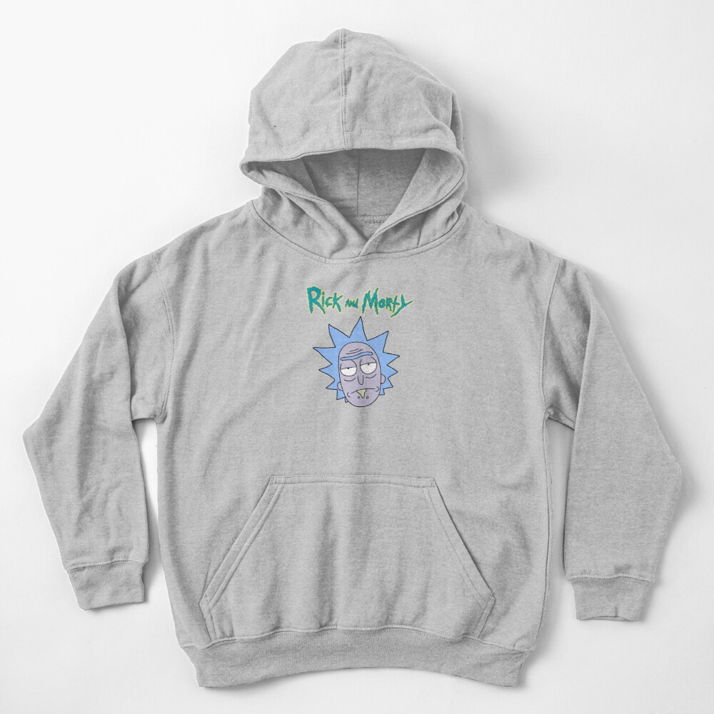 Rick Sanchez | Rick and Morty Character Kids Pullover Hoodie