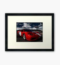 Ferrari 360 Racing Red.  Framed Print