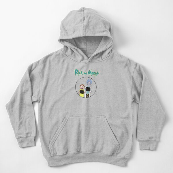 Rick and Morty | Rick and Morty character Kids Pullover Hoodie