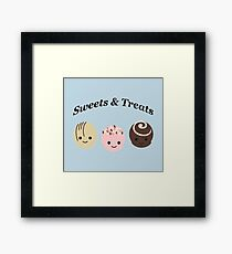 Sweets and Treats Framed Print