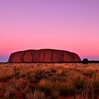 Ayers Rock Sunset  by Karina Walther