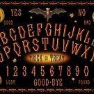 Vintage-style Halloween Talking Board by DuckSoupDotMe
