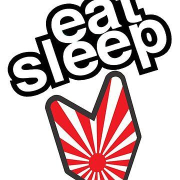 EAT SLEEP JDM by oturan