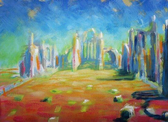 Elgin Cathedral by Calgacus