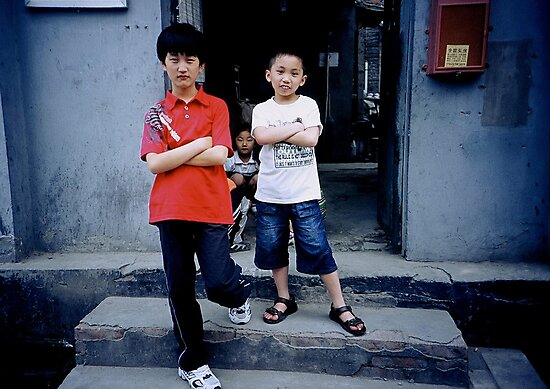 Hutong Kids by Gamal  Istiyanto