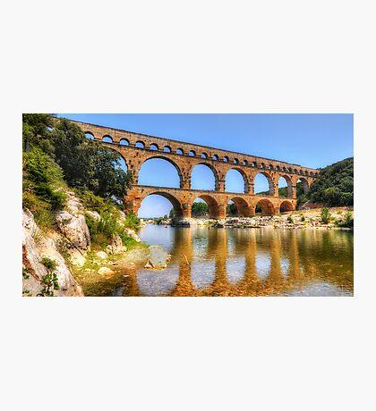 Pont Du Gard Photographic Print