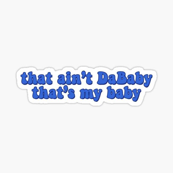 DaBaby  Sticker