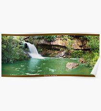Gledhill Falls - Ku Ring Gai Poster