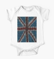 The Union Jack of Paper Clips! One Piece - Short Sleeve