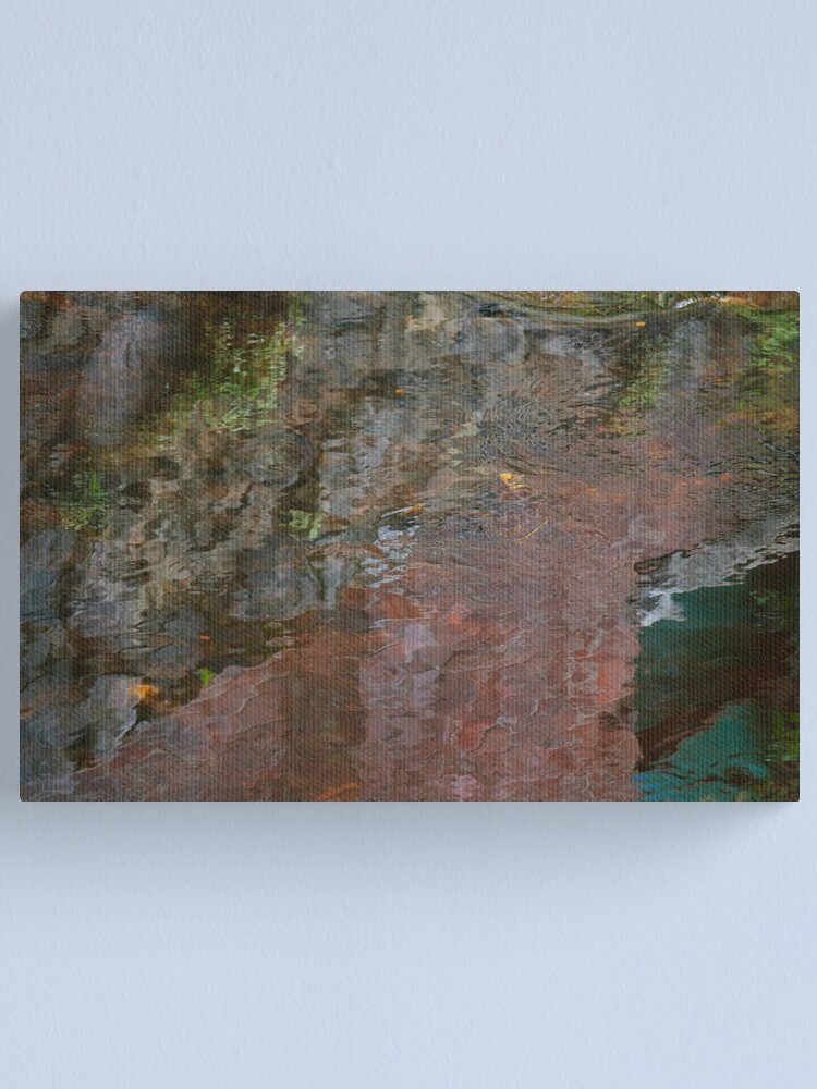 Alternate view of Mixing Colors Canvas Print