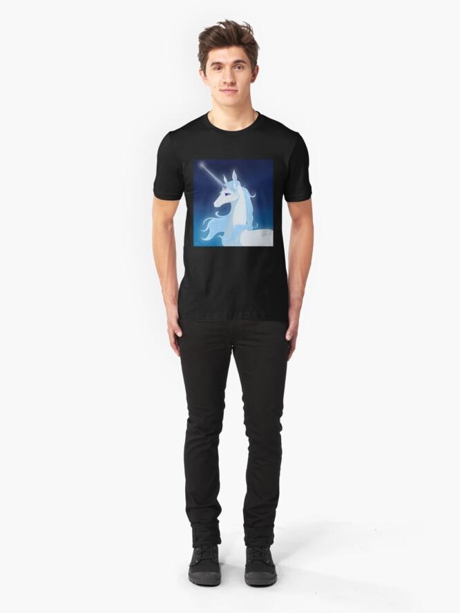 Alternate view of The Last Unicorn Slim Fit T-Shirt