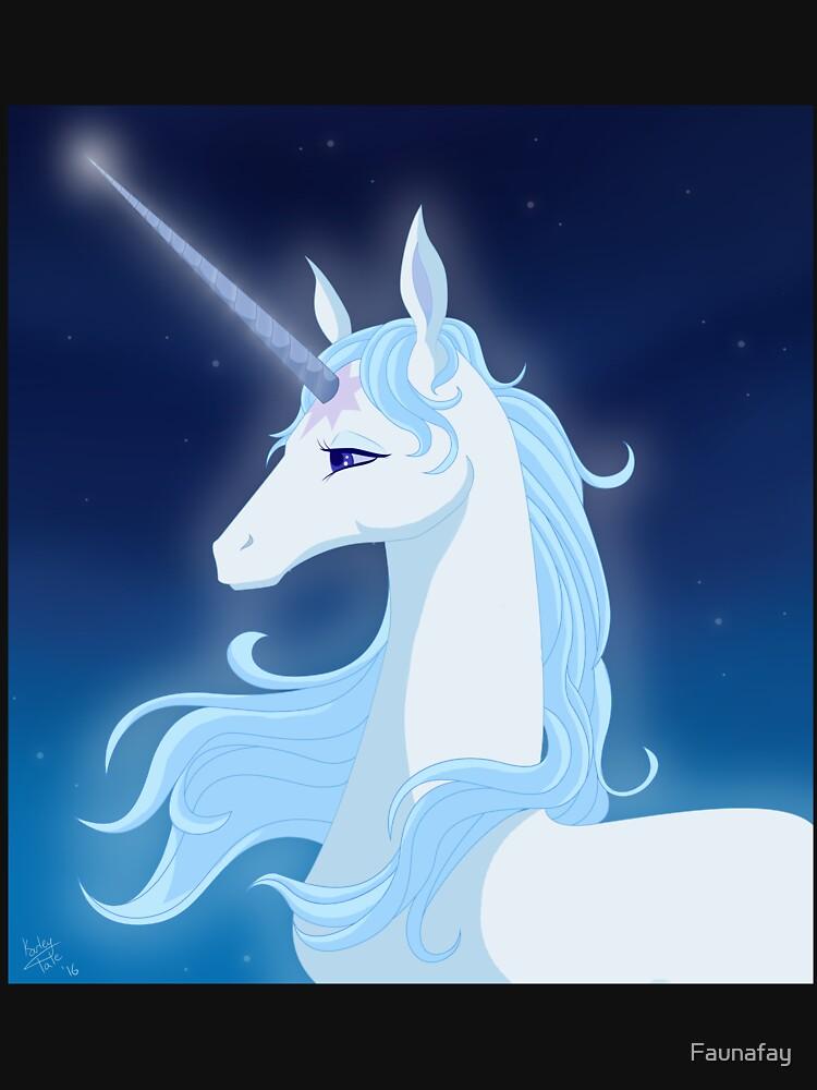 The Last Unicorn by Faunafay