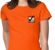Gay? Tick! Womens Fitted T-Shirt
