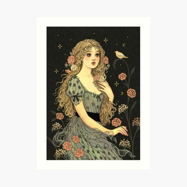 A Flor da Islandia Art Print