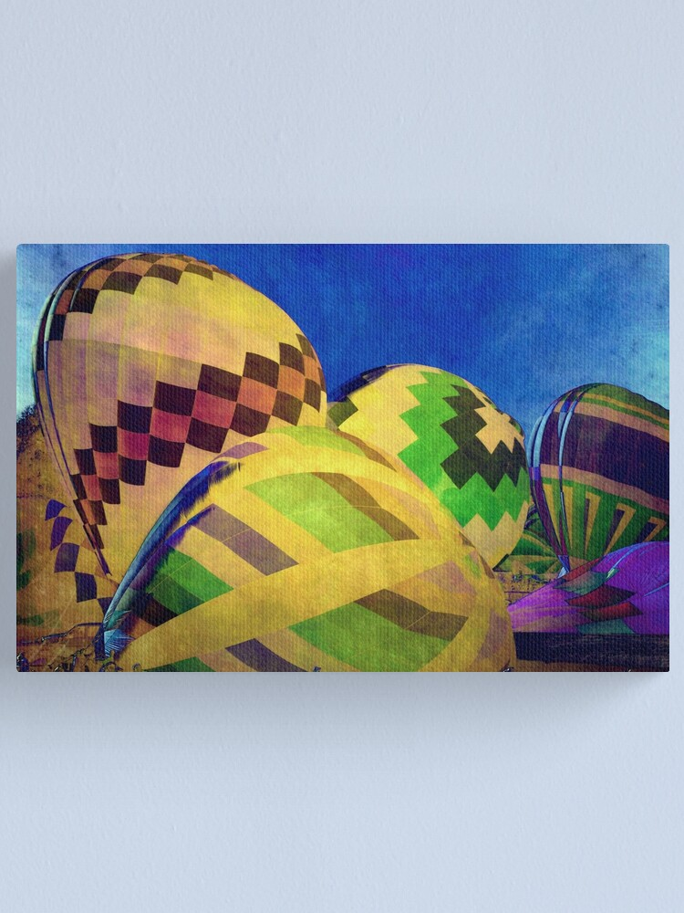 Alternate view of Color My World Canvas Print