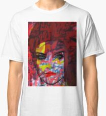 Cardboard Fashion Girl Classic T-Shirt