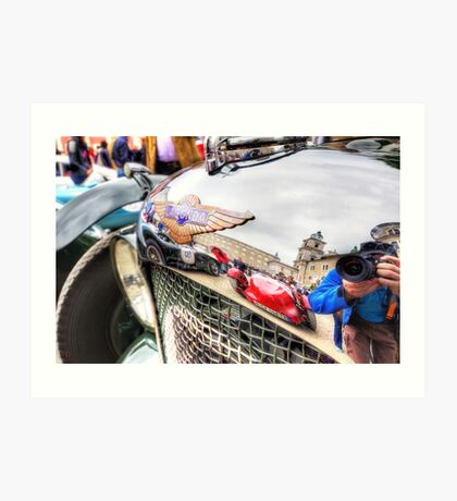 Lagonda Reflections Art Print