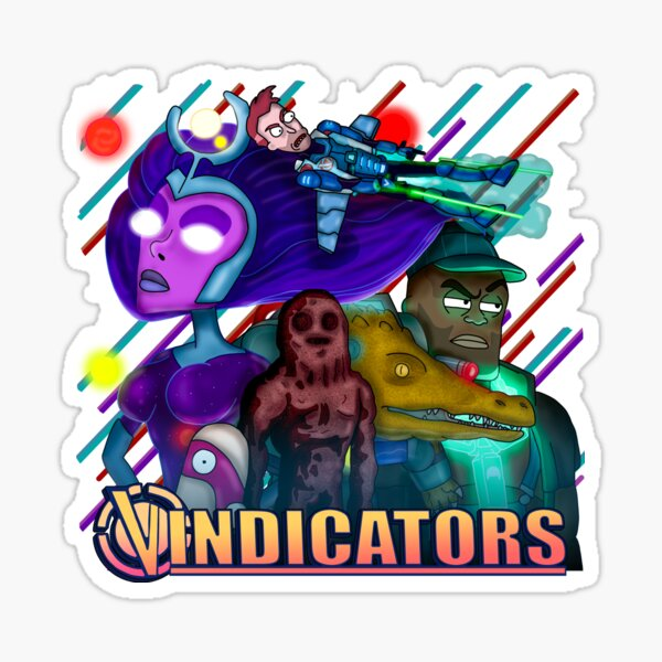 Vindicators Sticker