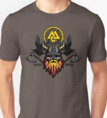 Odin with Huginn & Muninn T-Shirt
