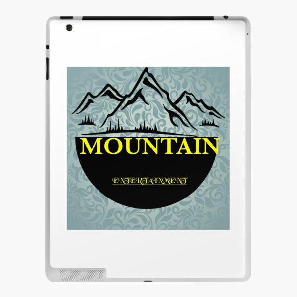 Cool mountain entertainment for redbubble iPad Skin