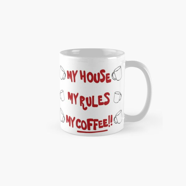 Knives out inspired my house my rules my coffee mug  Classic Mug