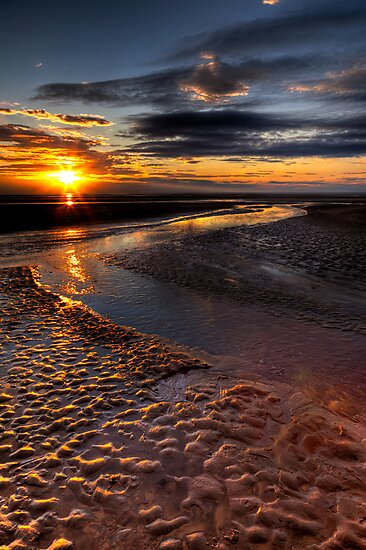 Welsh Sunset by Adrian Evans