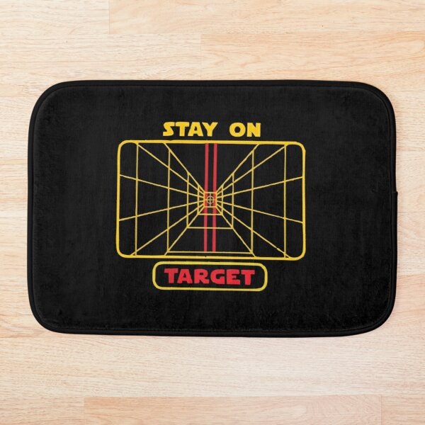 Stay On Target 1977 Bath Mat