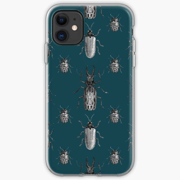 Beetle Beast Petrol iPhone Soft Case