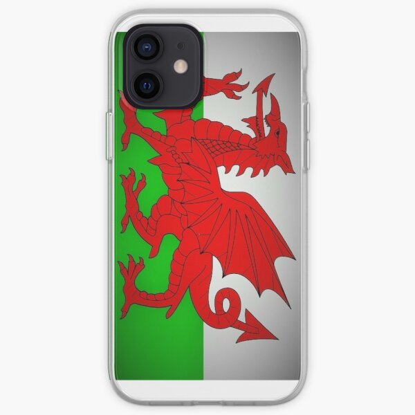 Welsh Dragon Flag iPhone Soft Case