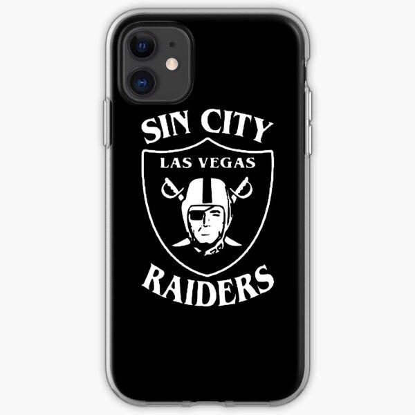 Sin City Las Vegas Raiders iPhone Flexible Hülle