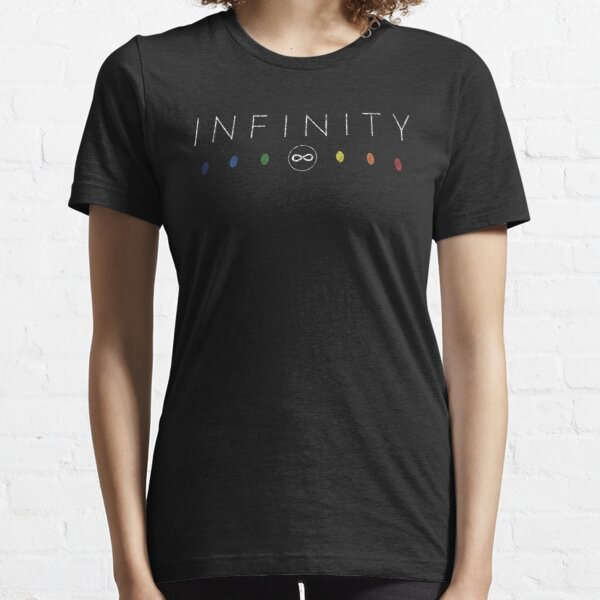 Infinity - White Dirty Essential T-Shirt