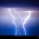 Triple Lightning Bolts by Bo Insogna