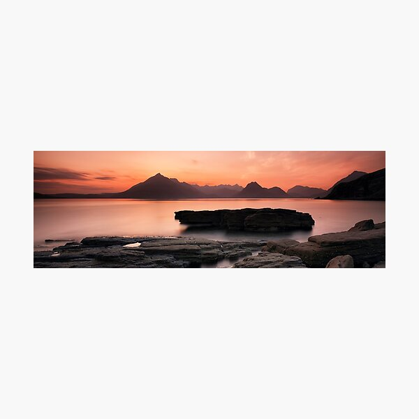 Skye Sunset Photographic Print
