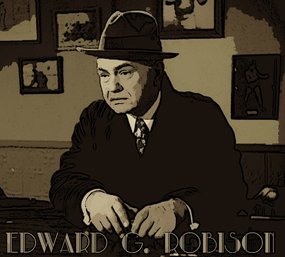 Edward G Robinson by smilku