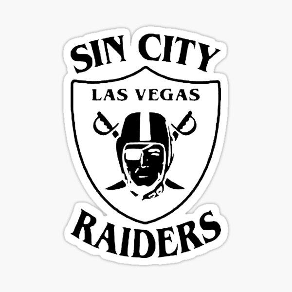 Sin City Las Vegas Raiders (Black) Sticker