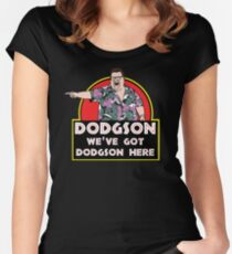 We've Got Dodgson Here Women's Fitted Scoop T-Shirt
