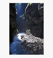 Light in the Canyon Photographic Print