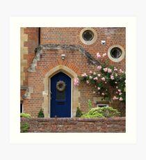 Oxford Door 1 Art Print