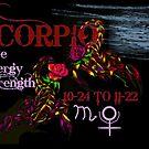 Scorpio by WildestArt