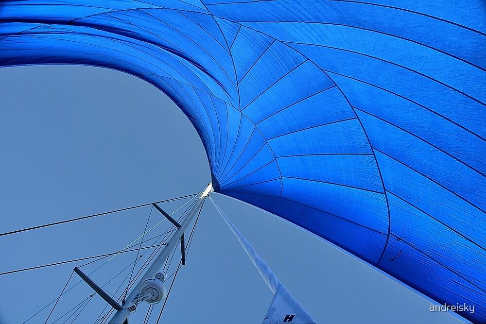 Blue sail by andreisky