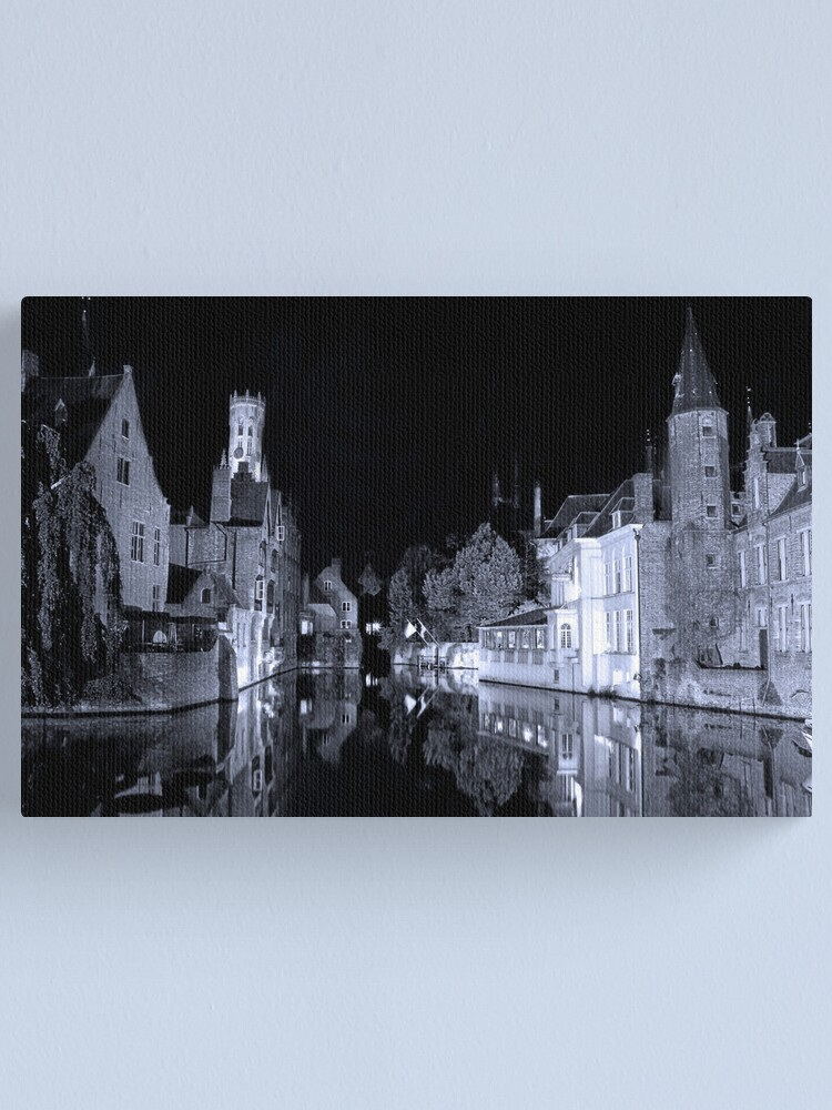 Alternate view of Brugges (A world heritage site) Canvas Print