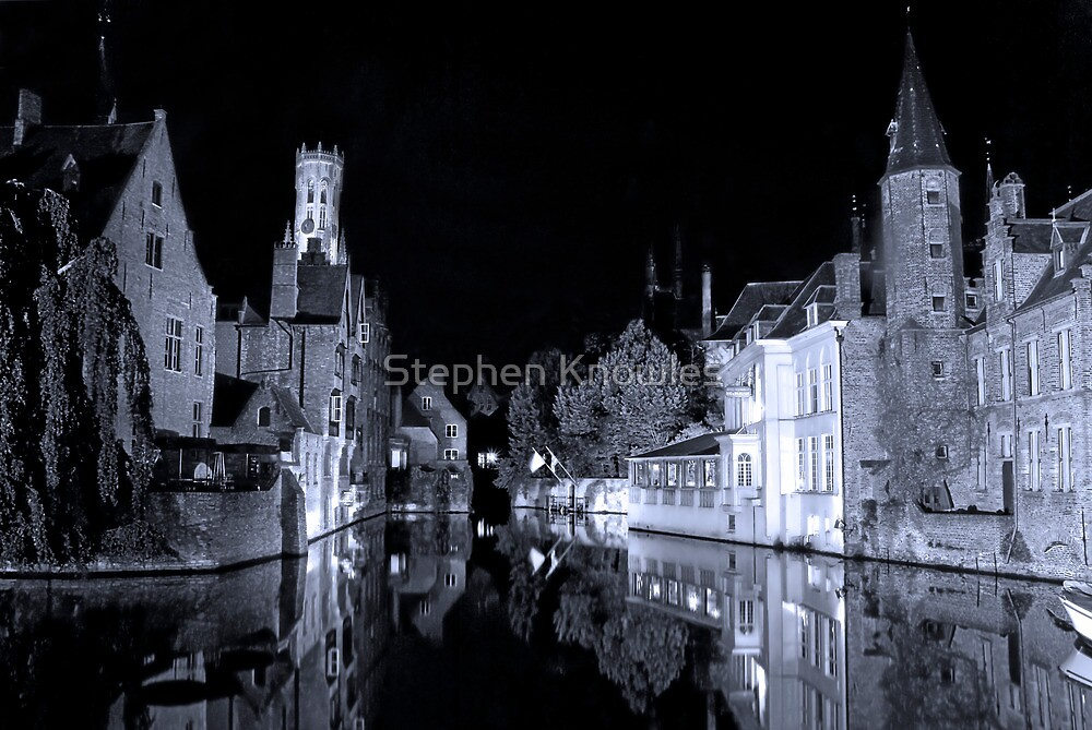 Brugges (A world heritage site) by Stephen Knowles