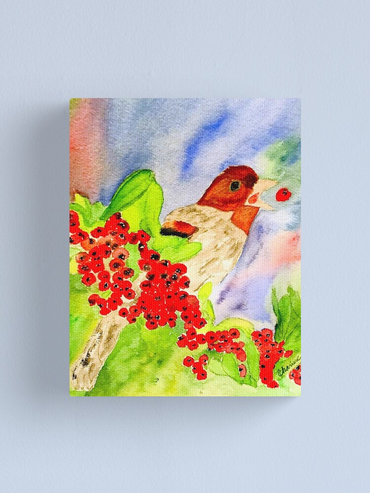 Alternate view of Songbird Canvas Print