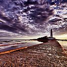St Mary's Lighthouse HDR by Philip  Whittaker