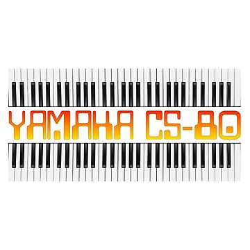 Vintage Yamaha CS-80 Synthesizer by kashamo