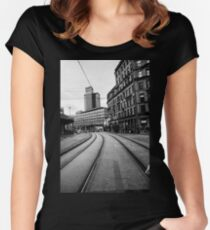 In The City I  Women's Fitted Scoop T-Shirt
